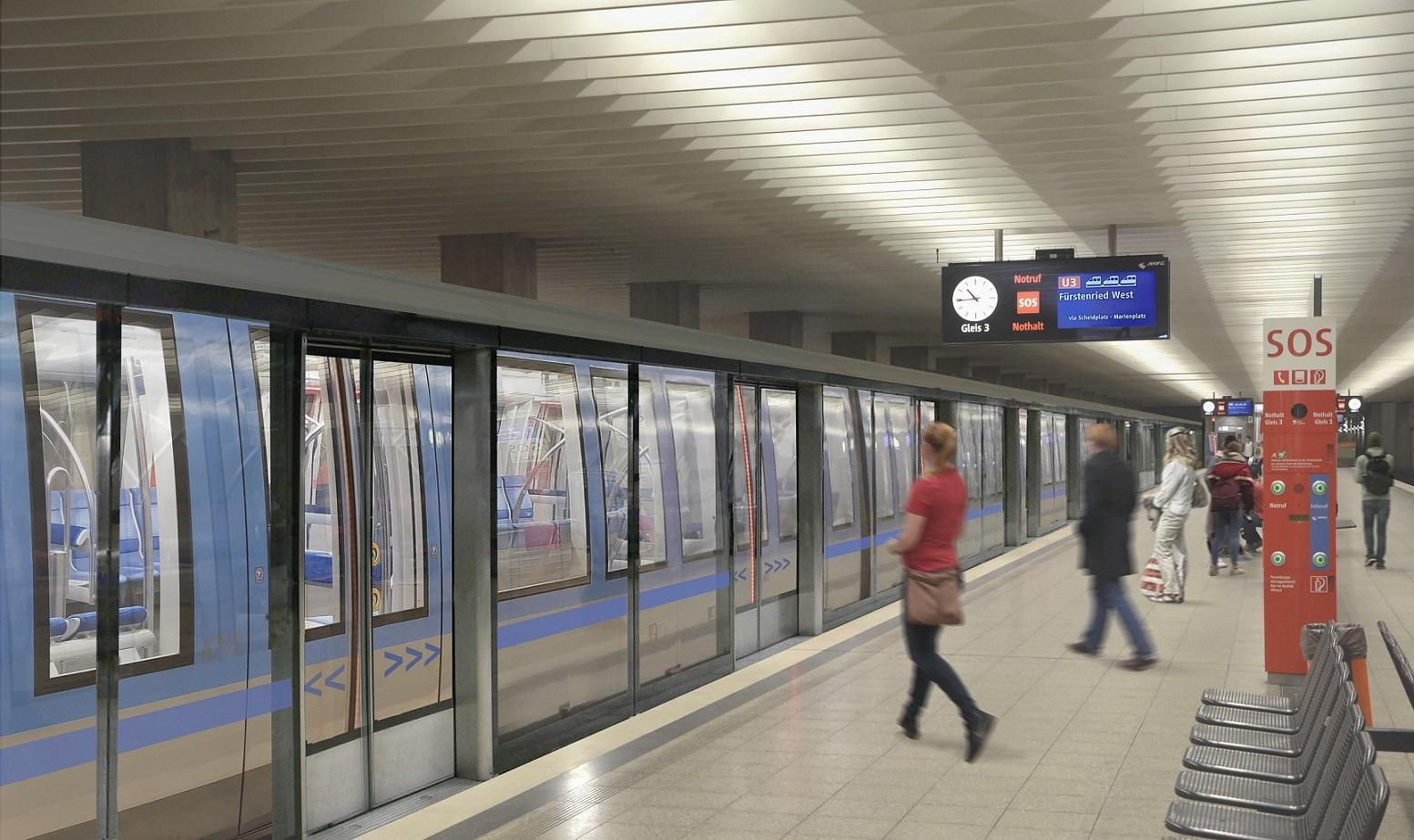 Bahnsteigtüren MVG