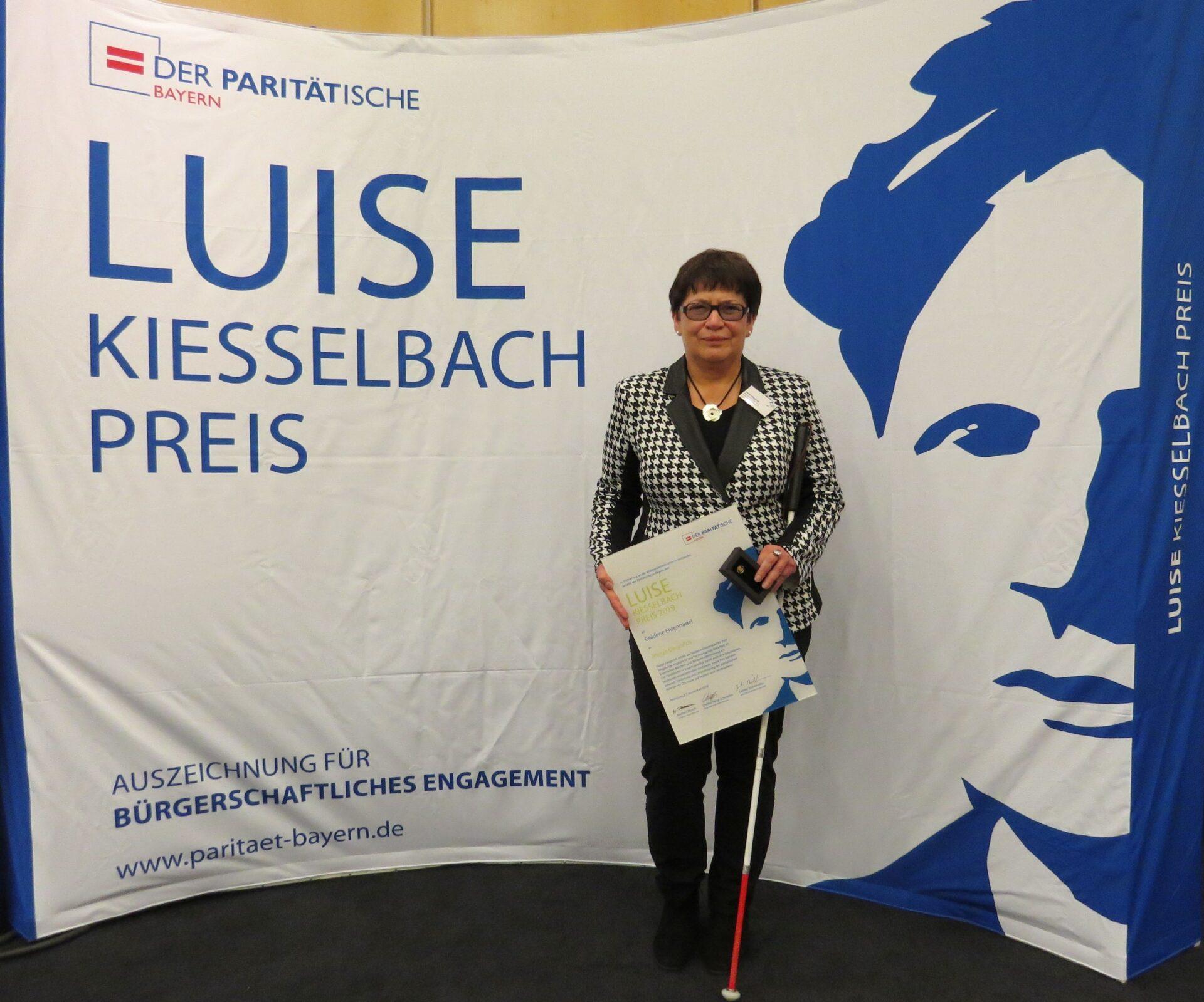 Verleihung des Luise-Kiesselbach-Preises an Margit Giegerich