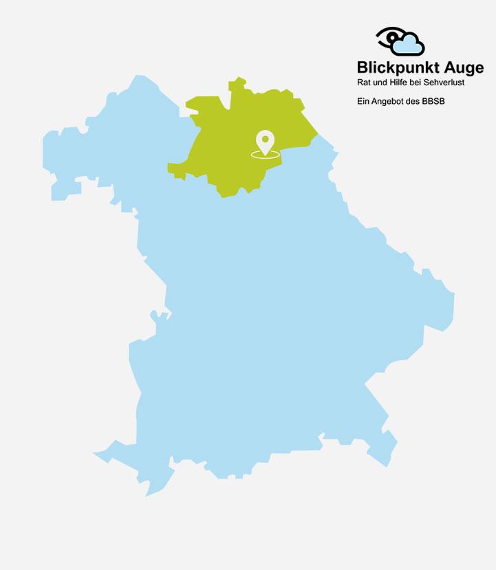 BPA Oberfranken in der Bayernkarte